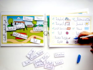 Arabic park vocabulary set