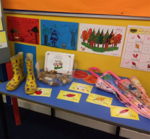 Fall unit Display by Future Leaders Academy in UK