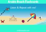 Videos: Beach flashcards & sentences