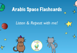 Video: Space flashcards & sentences