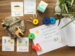 Arabic Seeds themed units for your homeschool