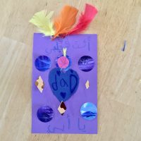 """A card for dad - inspired by the """"A card for mom"""" tutorial"""